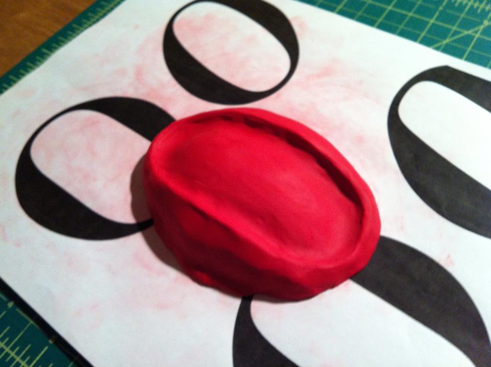 Bodoni Soap Dish - Strauss - Process3