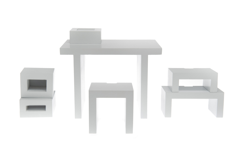Modular Nesting Furniture System 3