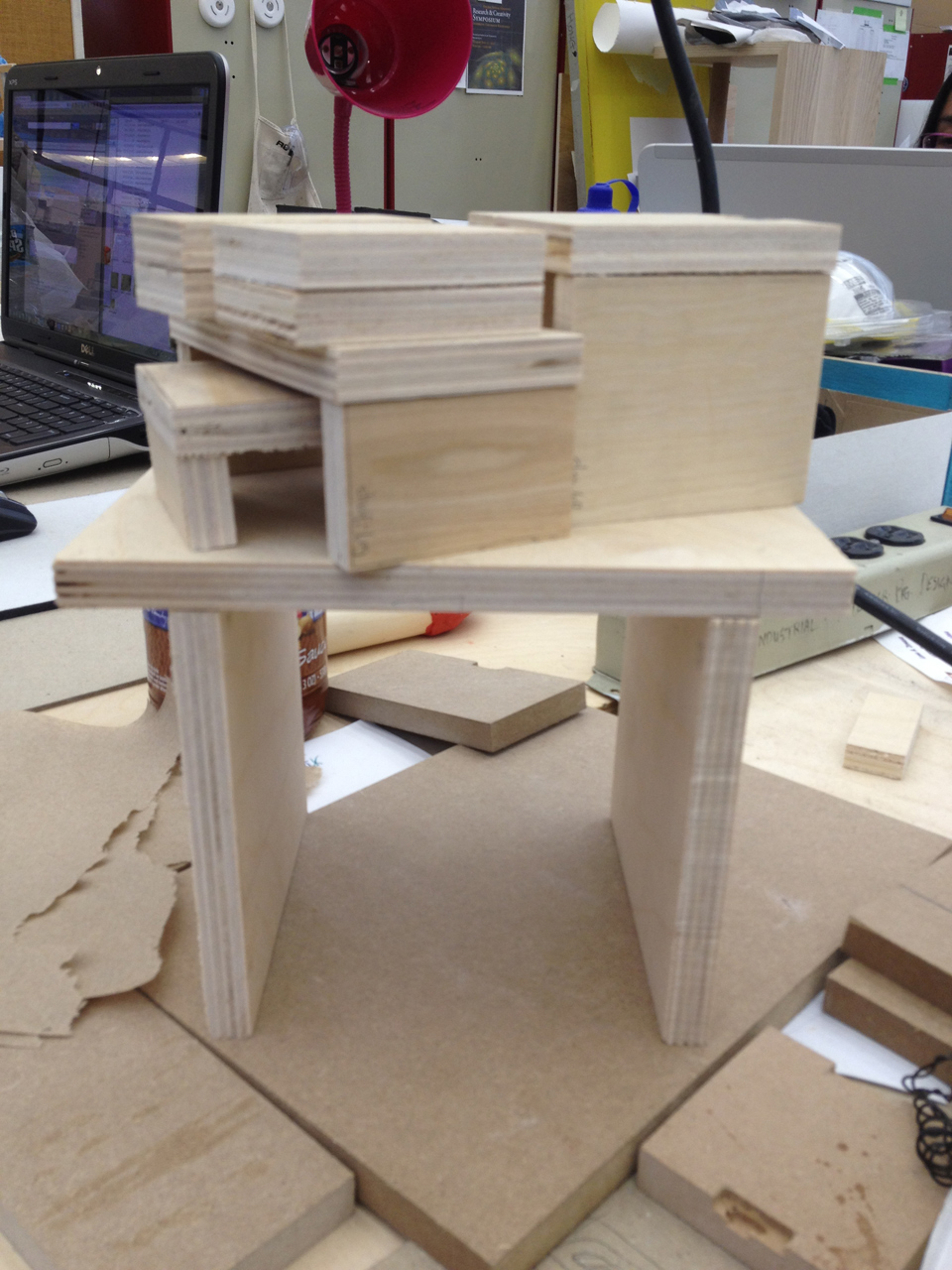 Modular Nesting Furniture System Process1