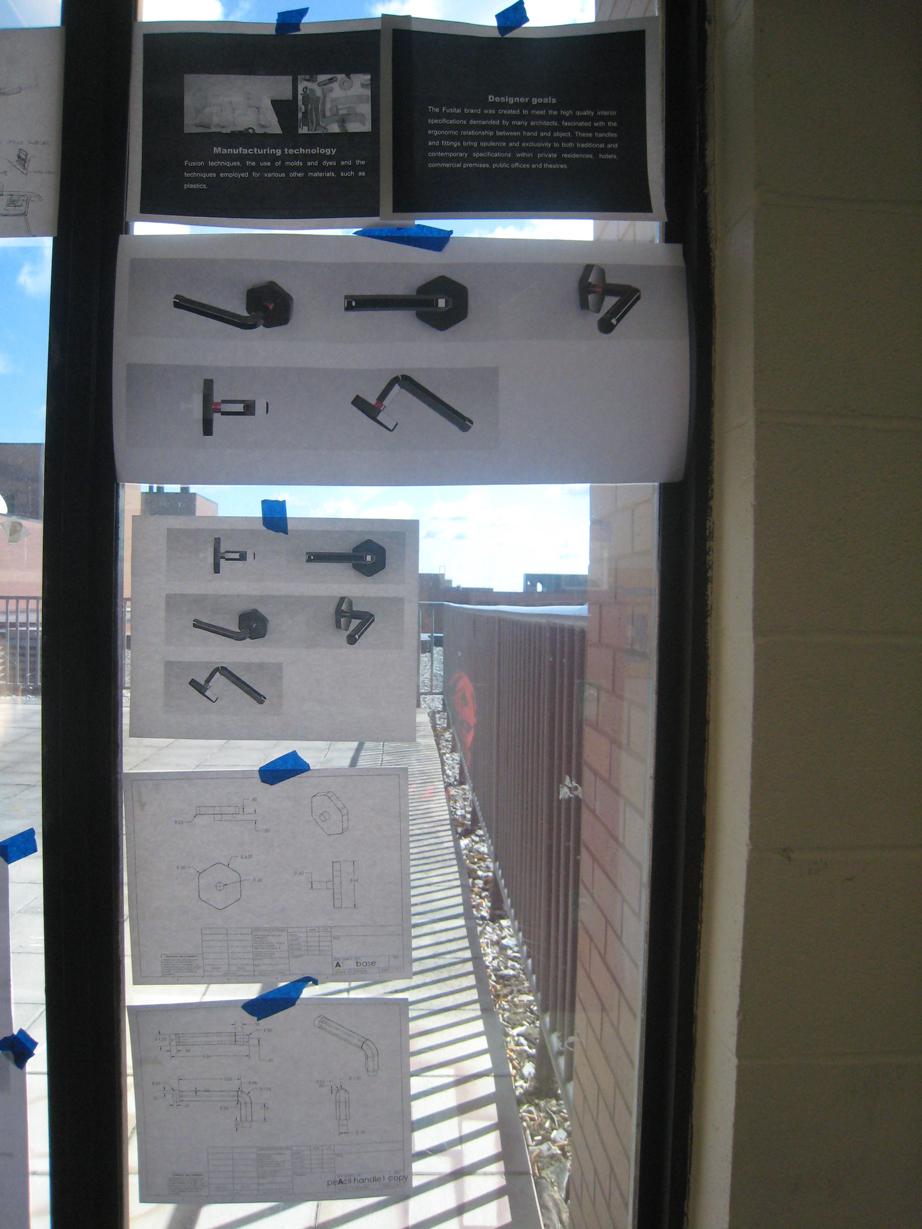 Pencil Door Handle - Process1