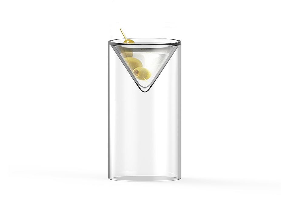 Floating Martini, Render